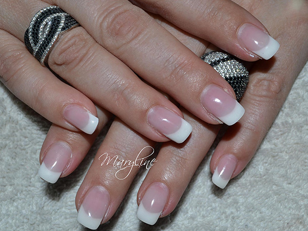 Ongles - French blanches
